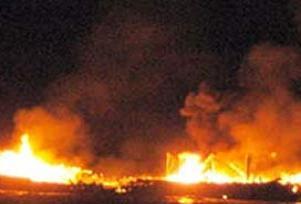 Güney Afrika'da yangın: 20 ölü.9244