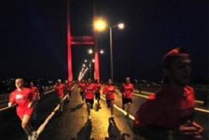 'Human Race İstanbul' koşusu yapıldı.8480