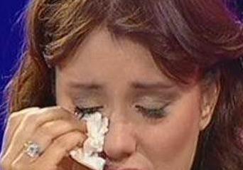 Hilal Cebeci gözyaşlarına boğuldu.13274
