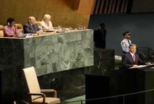 Gül BM Genel Kurulu'nda konuştu.10930
