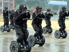 Olimpiyatlarda Çin polisini İsrail eğitmiş.13175