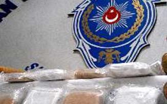 Kargoyla uyuşturucuya polis darbesi.14789