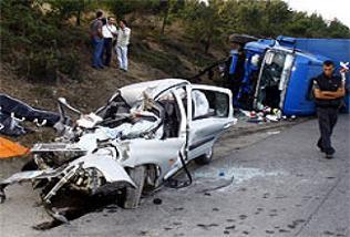 Tosya'da kaza: 2 ölü 3 yaralı.18912