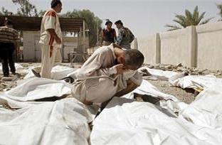 Irak'ta aynı aileden 8 kişi öldürüldü.14669