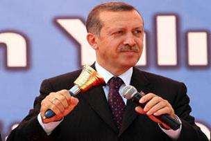 Erdoğan Türkmenistan'da okul açtı.11105