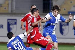 Ankaraspor Sivas'ı rahat geçti: 2-0.15256