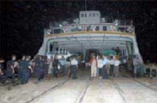Çanakkale'de feribot seferleri başladı.9980