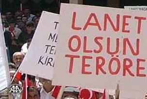 Ankara'da şehitlere saygı yürüyüşü.14176