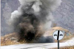 Şırnak'ta mayın patlamsı: 1 ölü 3 yaralı.13066