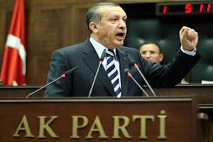AKP ilk kez oy kayb�na u�rad�.11756