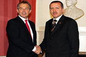 Erdoğan, Tony Blair ile görüştü.10859