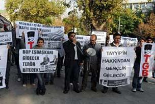 Ergenekon sanığı AKP karşıtı eylemde.18423