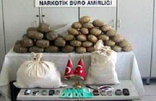 Gaziantep'te uyuşturucu baskını.12666
