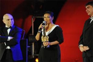 Altın Portakal'da ilk ödüller dağıtıldı.9047