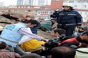 Adana'da inşaat çöktü: 2 ölü.16003