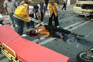 K.Maraş'ta motosiklet kazası: 2 ölü.14328