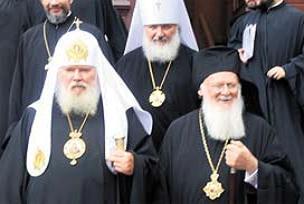 Ortodokslar �stanbul'da bulu�tu.12637