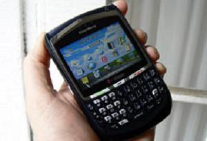 BlackBerry Storm görücüye çıktı.10584