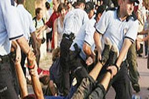 AKP protestosuna 30 gözaltı.17280