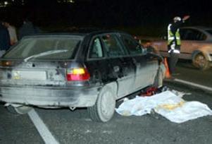 Haliç'te trafik kazası: 1 ölü.11064