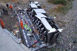 Gürcistan'da trafik kazası: 10 ölü.18720