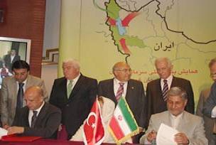 İran'la ekonomik protokol imzalandı.12688
