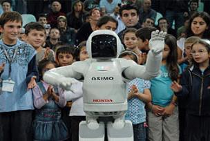 ASIMO, Türkiye şovunu tamamladı.15940