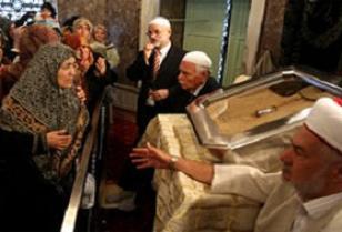 Kutsal emanetleri ziyaret meclis gündeminde.13609