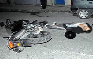 Nuriş adamına motosiklet üzerinde infaz.13840