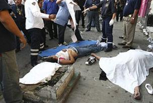 Meksika'da 48 saatte 23 kişi öldürüldü.16005