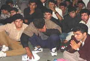 Edirne'de 65 göçmen yakalandı.11930