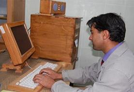 Bitlis'ten 'çevreci ahşap' bilgisayar.9987