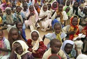 Darfur'da 40 bin kişi 'mülteci' oldu.18057