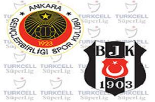 Gençlerbirliği 1 - 3 Beşiktaş (Maç Sonu).13783