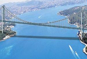 Boğaz Köprüsü'nde tenis maçı.11490
