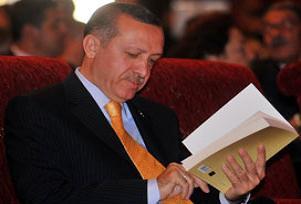 Erdoğan Türkçe için kaygılı.9998