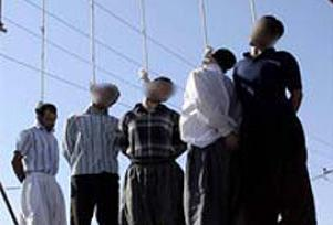 İran'da 4 kaçakçı idam edildi.10235