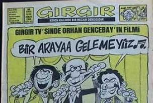 Gırgır'ın 21. yüzyıl versiyonu çıkıyor.19619