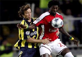 Arsenal 5 yıl sonra Fener'i 5'ledi.12828