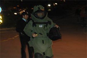 Tunceli'de bomba paniği.7566
