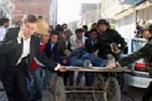 DTP: Doğubeyazıt'ta ölen kişiyi polis vurdu.11382