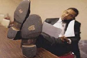 Obama'nın ayakkabıları özet gibi.8831