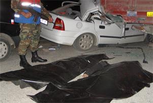 Gaziantep'te trafik kazası:2 ölü.12717