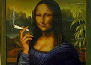 Narkotik Mona Lisa'ya el koydu!.10599
