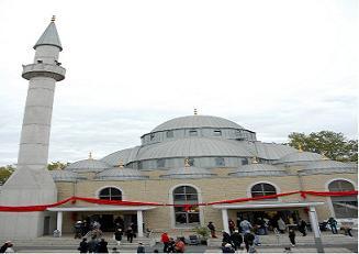 Almanya'nın en büyük camisi açıldı.13334