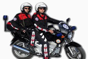 Motorize polisler ciple �arp��t�.14145