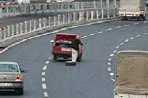 İstanbul trafiğinde bunu da gördük!.11049
