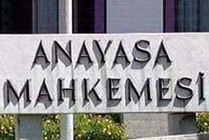Anayasa Mahkemesi'nden CHP'ye red.14293