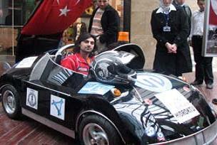 KTÜ'den Hidrojenle çalışan otomobil.17846