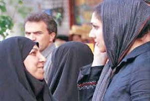 Başarılı Müslüman kadınlar toplanıyor.12057